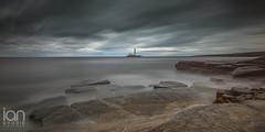 Mood (ianbrodie1) Tags: seascape longexposure nikon d750 stmarys lighthouse water sea ocean rocks cloud cloudsstormssunsetssunrises leefilters horizon coast coastline shoreline