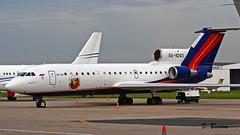 Yakolev Yak-42D n° 4520421219043 ~ RA-42411  Rusjet (Aero.passion DBC-1) Tags: aeropassion aviation avion aircraft plane dbc1 david biscove bourget 2007 spotting le lbg yakolev yak42 ~ ra42411 rusjet