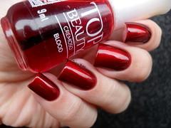 Hits - Sagitário + Top Beauty - Blood (Barbara Nichols (Babi)) Tags: hits sagitário magnético magnéticodegradê topbeauty blood vermelho red rednailpolish rednails esmaltevermelho