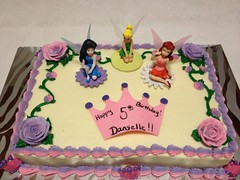 Fairy Cake by Jamie L., Triad Area, NC, www.birthdaycakes4free.com