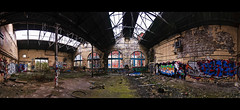 Shrubhill interior 02 (MichaWha) Tags: abandoned buildings scotland edinburgh industrial interior shrubhill michaelflocco