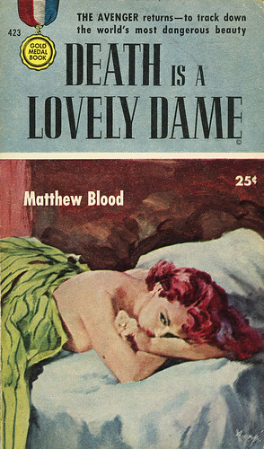 Gold Medal Books 423 - Matthew Blood - Death is a Lovely Dame