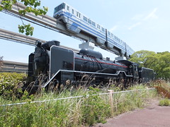 (SL D51 764 Osaka) (Matt-san) Tags: japan japanese osaka steamlocomotives