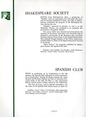 Shakespeare Society and Spanish Club (Hunter College Archives) Tags: students club 1936 yearbook shakespeare spanish clubs hunter activities williamshakespeare huntercollege studentorganizations organizations studentactivities spanishclub shakespearesociety studentclubs wistarion studentlifestyles thewistarion