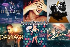 Cover Selection Part 44 (Benikari47) Tags: love la artwork punk perfume random spears cd magic feel namie amuro memories cover ciara damage access ooh britney daft checkmate 2013 benikari47
