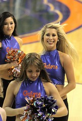 Gator Dazzlers (dbadair) Tags: senior basketball day cheerleaders florida gators 150 vanderbilt cheer title sec uf oconnell vandy 2013