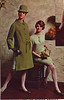 Spiegel 67 fw green coat (jsbuttons) Tags: green leather fashion vintage clothing mod buttons spiegel clothes 1967 suede catalogs