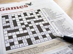 Day 2: Incomplete (mp media) Tags: paper newspaper crossword puzzle photoaday unfinished incomplete uncompleted completing