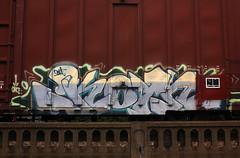 KOYN (The Braindead) Tags: art minnesota train bench photography graffiti painted tracks minneapolis rail explore beyond the