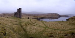 Ardvreck Castle by Loch Assynt (AssyntNature) Tags: castle sutherland lochinver assynt lochassynt 2013