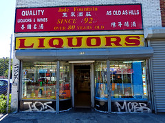 Jade Fountain Liquors (Goggla) Tags: new york old nyc fountain les store side east hills liquor jade storefront lower gentrification nomore