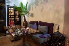 Riad Houdou - Patio (Benjamin Gillet) Tags: quiet calm patio morocco maroc marrakech medina calme riad mdina houdou