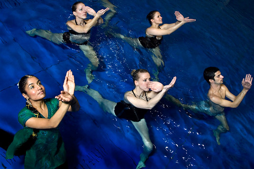 Balbir Singh Dance Company to take work performed in water on national tour