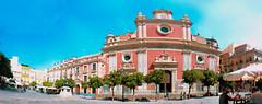 Panorama Plaza del Salvador Sevilla -Con 168 fotos (cives-expat) Tags: panorama españa sevilla plazadeelsalvador
