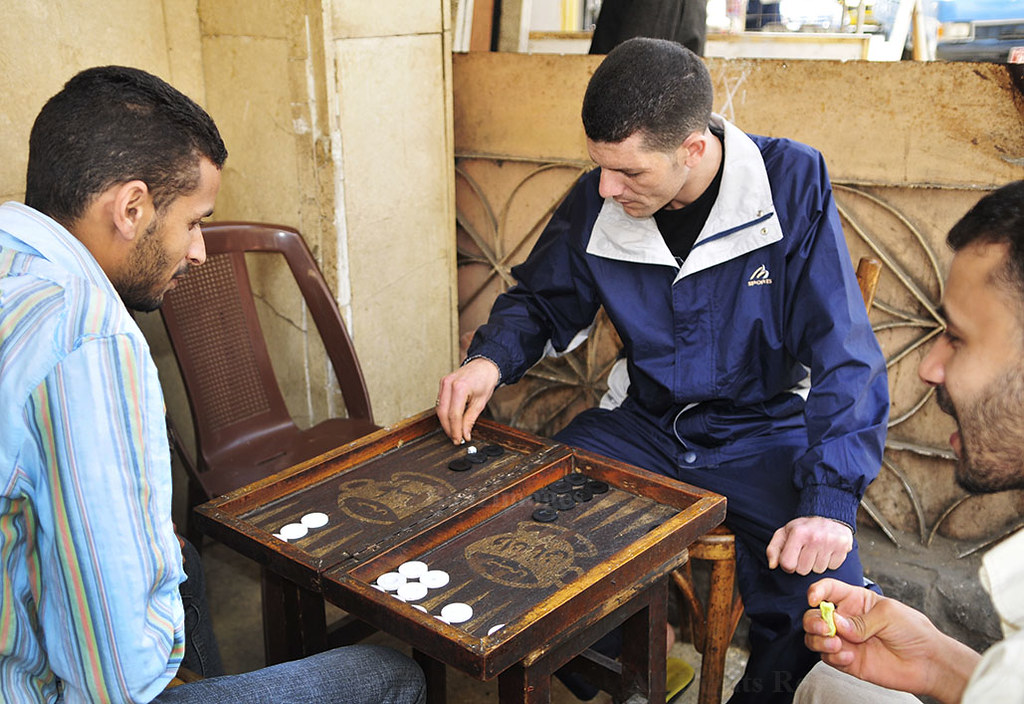 egypt backgammon