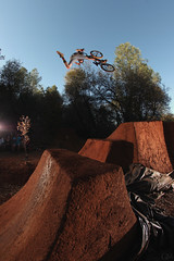 Travis Kizer (Garrett Meyers) Tags: train photography one bmx photographer marcus air leg trails jeremy dirt trail obrien kaiser redding jumps grizz follower garrettmeyers