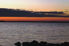 Orange Sky (third stone) Tags: sky orange lake bruce cottage peninsula huron