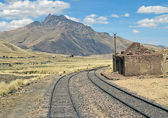 On the Andean Explorer (Mike Colyer) Tags: alpaca peru inca ruins cathedral cusco explorer andean peruvian