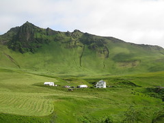 verdure of Iceland (VERUSHKA4) Tags: life summer fab sky white house mountain green nature field grass set canon wonderful landscape iceland europe day village july best favourite verdure northcountry