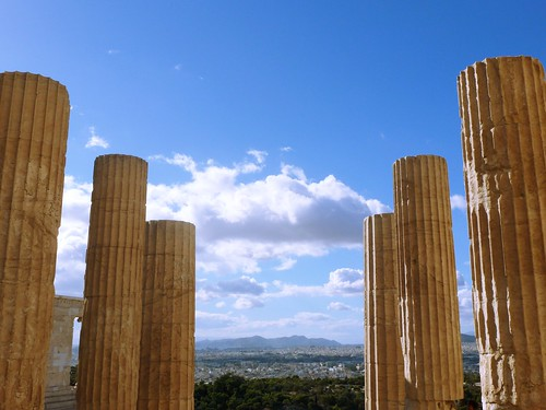 Acropole d'Athènes, Grèce