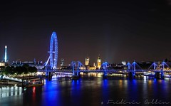 London cityscape at night (lathuy) Tags: