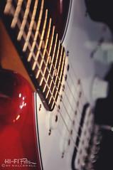 Strat (Hi-Fi Fotos) Tags: music rock electric store nikon bokeh guitar sigma pickup fender solo instrument axe jam fret strat stratocaster whammy shred sixstring pickguard d5000 18250mm hallewell hififotos