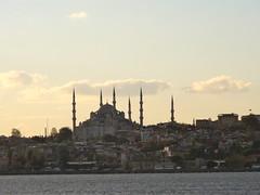 Skyline Istanbul (vanaf de Ferry)