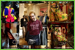 Andy at Patricia Field store (Farzana Q.) Tags: usa ny shopping stores nolita 2013