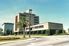 Orlando Old City Hall, 1985 (StevenM_61) Tags: architecture orlando florida cityhall 1985 demolished midcenturymodern governmentbuilding