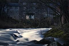River Of Dreams (Joel Woodward) Tags: longexposure landscapes whitewater rivers softfocus llanidloes midwales postprocessing hdrimages lowlightphotograph mistyeffect