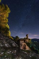 LA ERMITA DEL CALVARIO (Der_Golem_) Tags: lightpainting flash iglesia cadiz nocturna ermita grazalema abandonada 2013