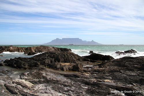 Rocky View of Table Mountain