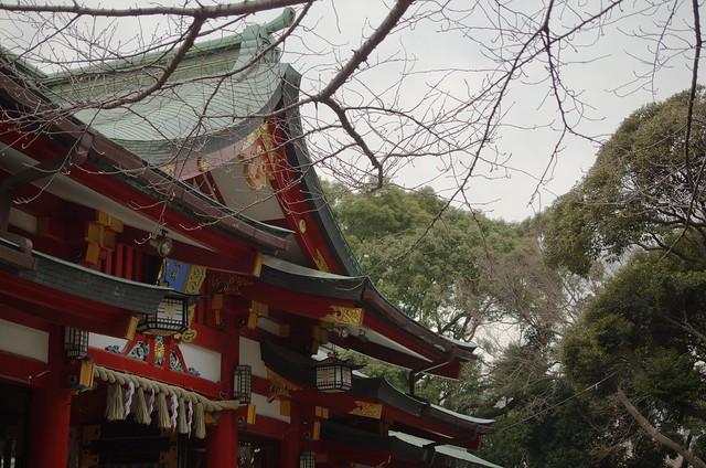日枝神社(赤坂) 神門