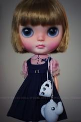 A Doll A Day. Feb 1. Tea Time.