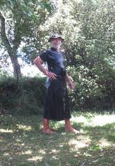 Summer wet cord. (Jack Williams) Tags: summer wet fun freestyle auckland nz skirts meninskirts wetlook wetfun skirted frolics malefashion wetguy