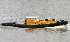 Express (2) @ Gallions Reach 10-02-14 (AJBC_1) Tags: uk england london boat ship unitedkingdom vessel tugboat tug sws riverthames walsh eastlondon gallionsreach northwoolwich newham londonboroughofnewham ©ajc dlrblog ©ajc