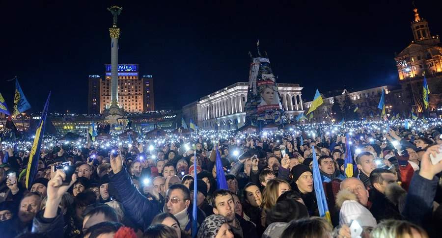 Майдан в декабре 2013