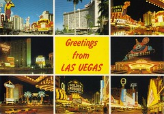 greetings from las vegas (hugh.c.mcbride) Tags: vegas vintage hotel lasvegas postcard casino postcards