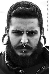 2014_03_20 Portrait (Emanuel Di Francia) Tags: portrait people face eyes nikon emotion anger tribal persone occhi ritratti ritratto emanuel rabbia d90 fotoritratto emanueldifrancia