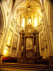 Interior of Cuenca Cathedral, Spain (Telboy Cd/ff) Tags: elements