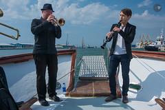 Festival Dixieland Tarragona (Ferryfb) Tags: sea musician music festival port puerto boat mar barco msica tarragona mediterrneo bigband dixieland vaixell msicos mediterrani