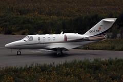 EC-LDE Cessna 525 (Bene Riobó) Tags: citationjet lest scq cessna525 cessna525citationjet1 cessna525citationjetcj1 eclde
