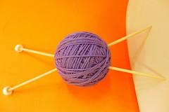 Knitting.The Art I love (sifis) Tags: art wool knitting athens bamboo yarn greece needles sakalak     sakalakwool