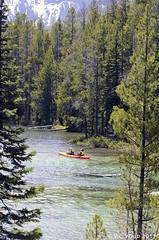 Kayaks on String Lake (V. C. Wald) Tags: kayaking grandtetonnationalpark stringlake samsunggalaxys6