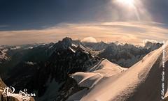 Dpart Valle Blanche (Annecy Photo - Sebt) Tags: montagne alpes soleil du glacier neige midi blanche chamonix montblanc glace alpinisme massif hautesavoie sommet valle aiguille