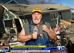 Action News at the Huge Swamp Draining Disaster (Studio d'Xavier) Tags: werehere latebreakingnews news rednecknewsnetwork bufordbezarre actionnews manigotapi 365 february242017 55365