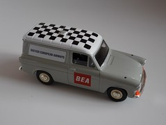 Lledo Vanguards - Classic Commercial Vehicles - Model Number VA4006 - Ford Anglia Van - BEA / British European Airways - Airport Follow Me Vehicle - Miniature Die Cast Metal Scale Model Vehicle (firehouse.ie) Tags: vintage followme operations ops airfield aviation britisheuropeanairways airportoperations vehicles vehicle airport bea model models cars car toys toy vanguards lledo van anglia ford