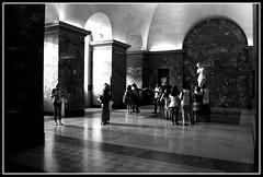 Venere (gianluca.golino) Tags: parigi paris ville lumiere museo louvre museum musee bw black white bianco nero