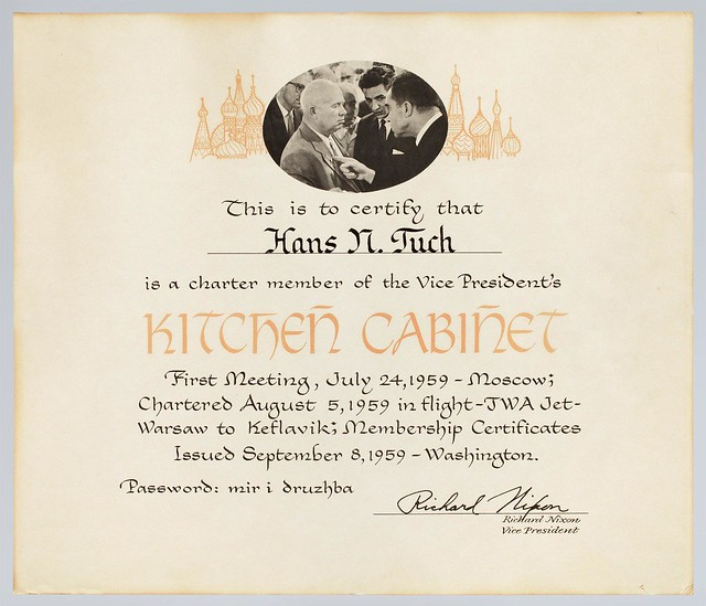 """Kitchen Cabinet"" Certificate"