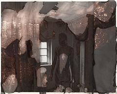 Shower (///Brian Henry) Tags: abandoned darkroom hp5 alternative process experimental self